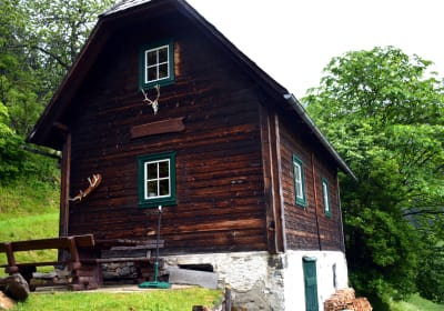 Almhütte in Alleinlage, Oberzeiring, Steiermark