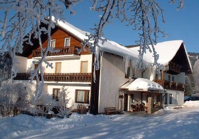 Winterurlaub am Bauernhof, Schilifte in der Nähe