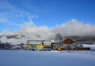Hacknerhof im Winter