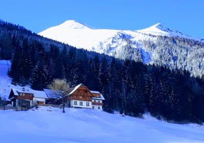 Farmhouse in the Winter
