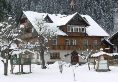 Winter at Weitgasserhof