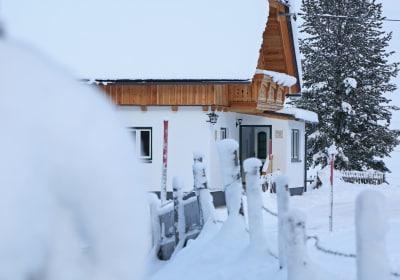 Das Berghaus Stückler im Winter