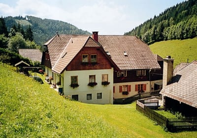Hinterseite vom Haus