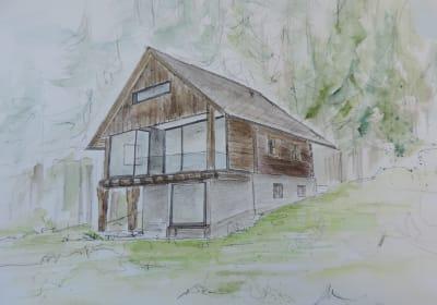 Waldchalet Blockhaus