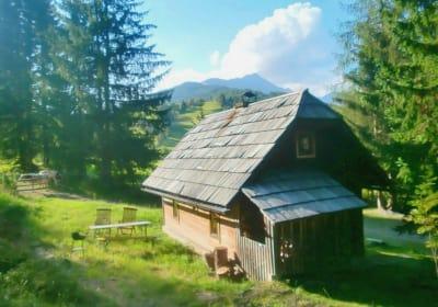 Hütte Richtung Preber