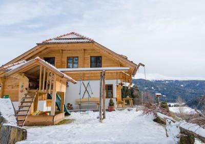 Hubmoarhütte im Winter