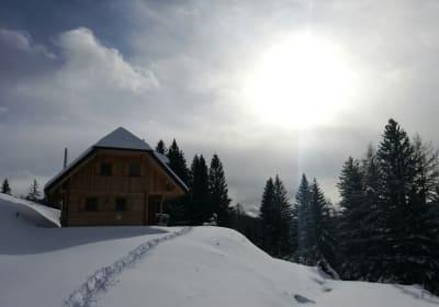 Winter Almhütte Nikola