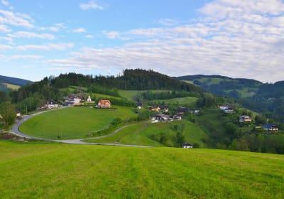 Dorf Rossegg - im Naturpark Almenland