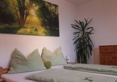 Geschmackvoll eingerichtete Ferienwohnung am Biohof Schweiger