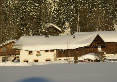 Bruggerhof in Leutasch Winter