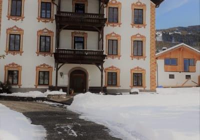 Fürstenhof im Winter