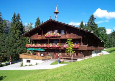 The Gasteighof in summer