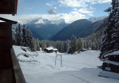 Winter on the Alpine pasture