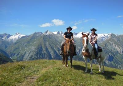 Alpines Wanderreiten