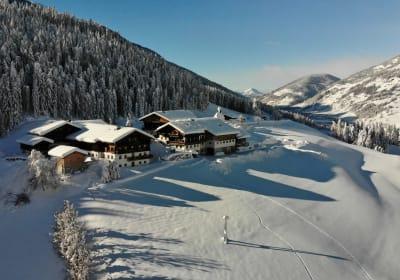 Hattlerhof im Winter