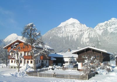 Schleicherhof in winter