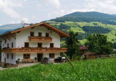 Unser Haus im Sommer