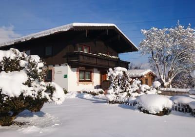 Ferienhaus Schleicherhof im Winter