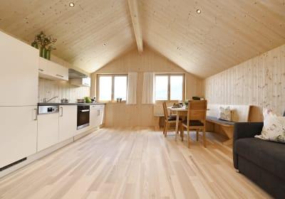 Wohnküche FW blauer Himmel