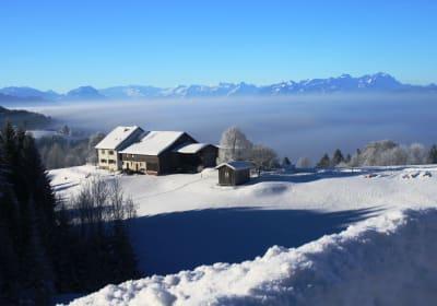 Innauerhof im Winter