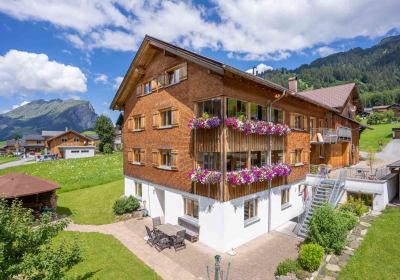 Forsthaus Schoppernau in summer