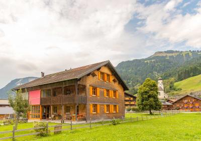Ferienbauernhof Nigsch - Ansicht von Süden