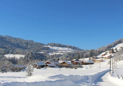 Blick auf Brittenberg