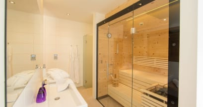 Suite zur Wohltat mit Bio-Sauna