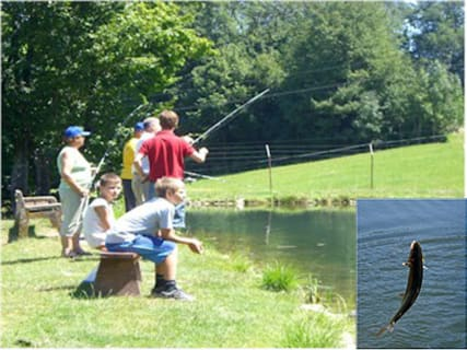 Forellenhof trout fishing