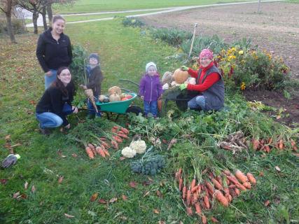 Große Ernte im Herbst