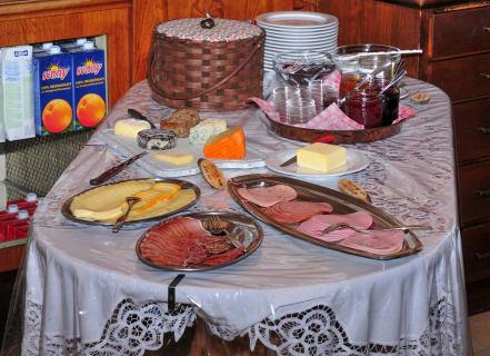 Frühstücksbuffet Alpenhof