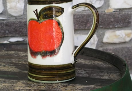 Austrian cider jug from Keutschacher Ceramics