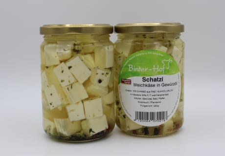 Schatzi - Weichkäse in Öl