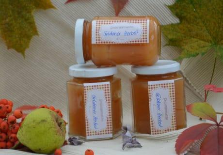 Selbstgemachte Marmeladen