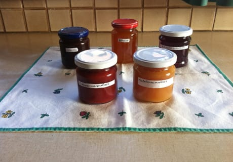 Marmeladen des Hauses