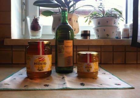 Traubensaft & Honig aus der näheren Umgebung