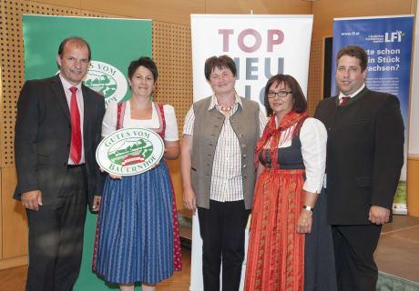 """Auszeichnung """"Gutes vom Bauernhof"""" im Juni 2014"""