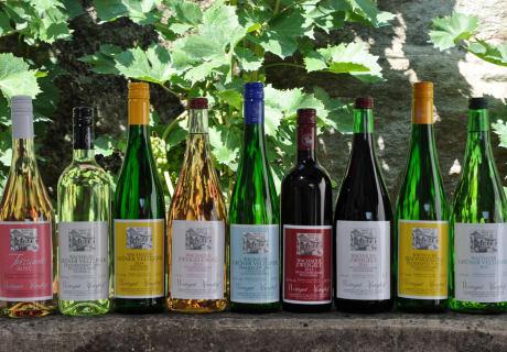 Manghof - Weinflaschen