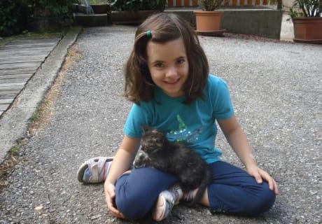Nanni die Katzenmama