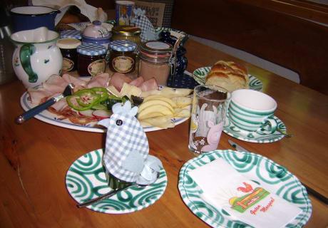 Bauernhoffrühstück
