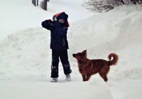 Winterspaß mit Benny