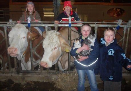 Tiererlebnisse am Bauernhof