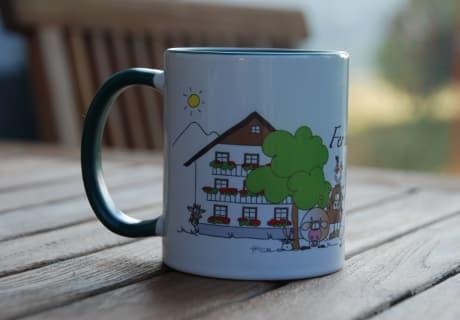 Tassen mit unserem Logo