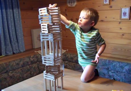 Holzstöckerl bauen