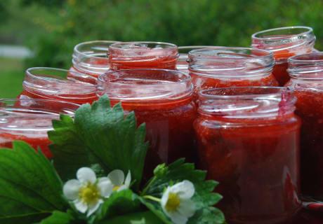 leckere Erdbeermarmelade