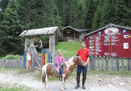 Ponyreiten am Stockhamhof