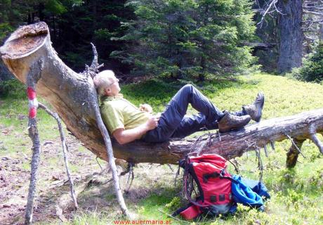 Wandern_Liegestuhl der extra Klasse