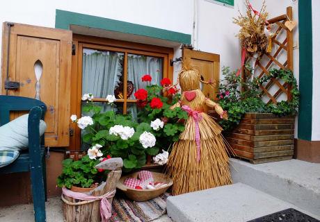 Eingang Bauernhaus
