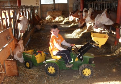 Trett-Traktor