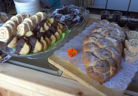 Frühstück im Hildegardgarten